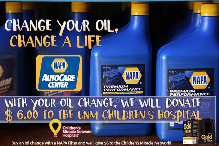 Change your oil change a life