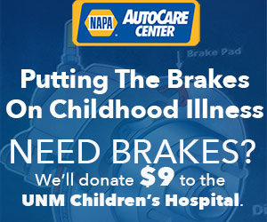 Need Brakes Brake Jobs - Brake Repair - $9 to UNM Children's Hospital